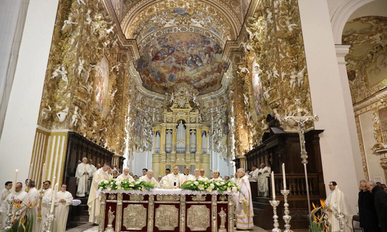 Agrigento. Riti Settimana Santa celebrati in Cattedrale: la tradizione si adatta al tempo della pandemia