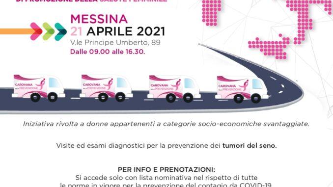 Caritas Messina e Rogazionisti, 21 aprile mammografie ed ecografie gratuite per donne in situazioni di fragilità