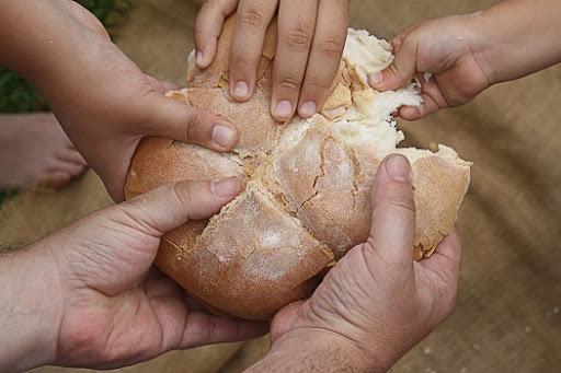 Pane condiviso che diventa relazione d'amore