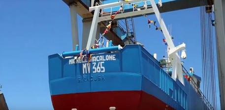 Pietre contro peschereccio Mazara da motopesca turco
