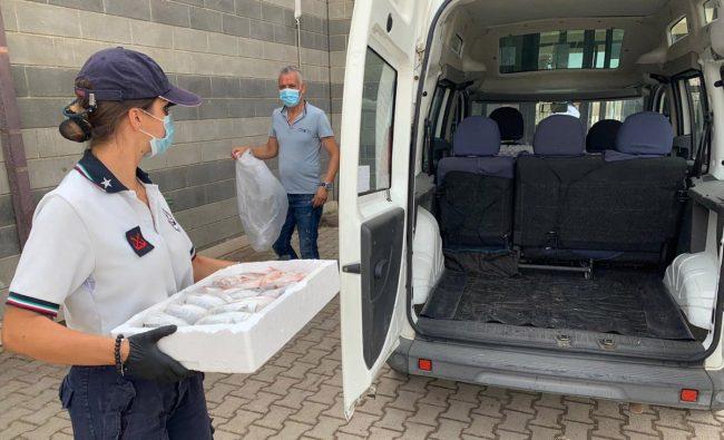 Mazara. Guardia Costiera dona pesce sequestrato da destinare ai poveri