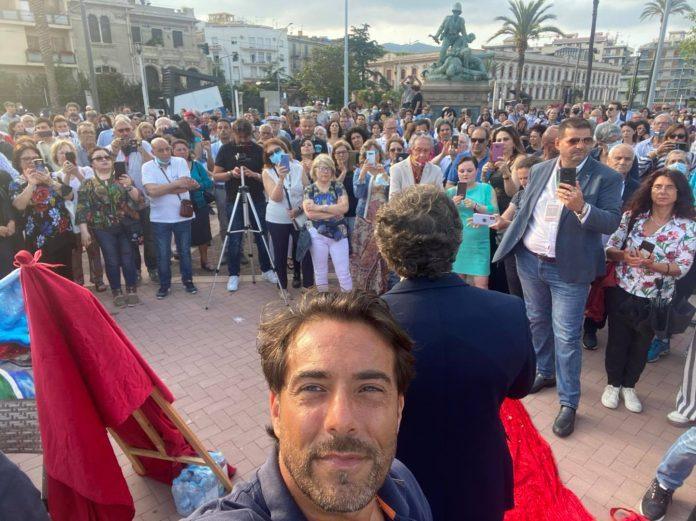"""Messina. Un centinaio di """"no vax"""" e un magistrato che parla di dittatura"""