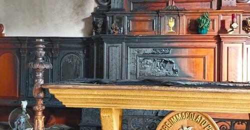 """Diocesi di Mazara. Incendio Santuario, Mons. Mogavero: """"Gesto che non può avere plausibile giustificazione"""""""
