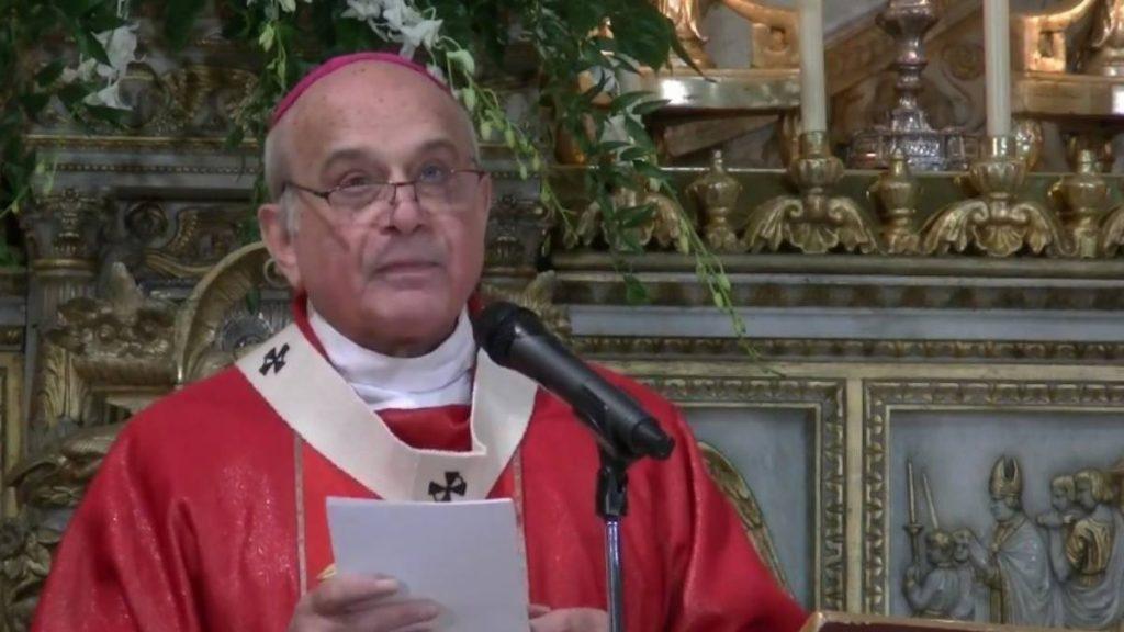 Diocesi di Catania, Mons. Salvatore Gristina positivo al covid
