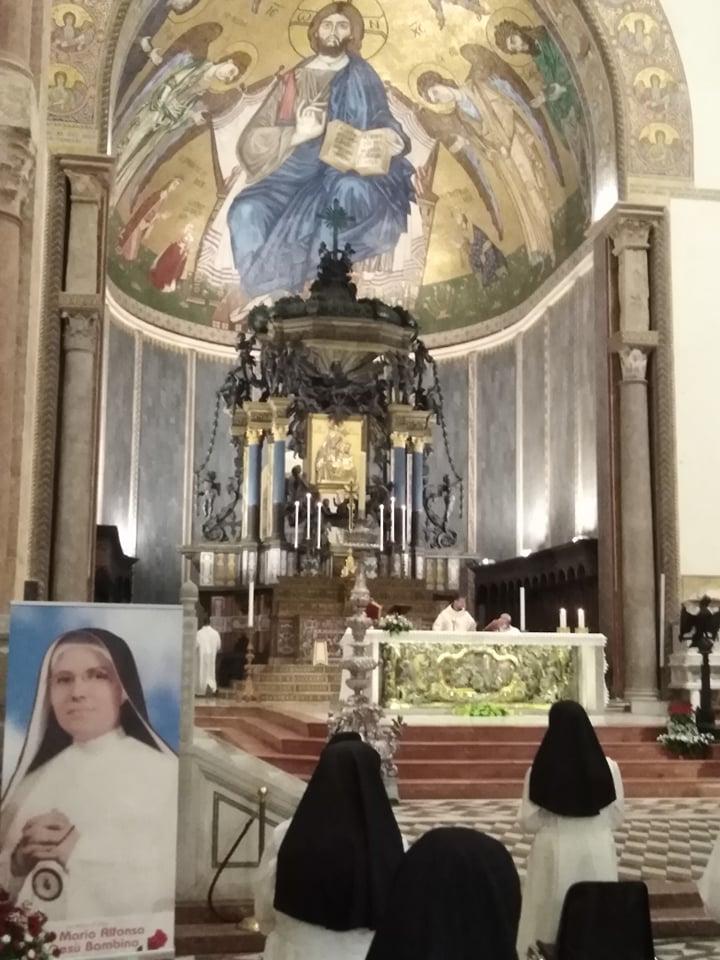 Messina ricorda il pio transito della Serva di Dio Suor Maria Alfonsa