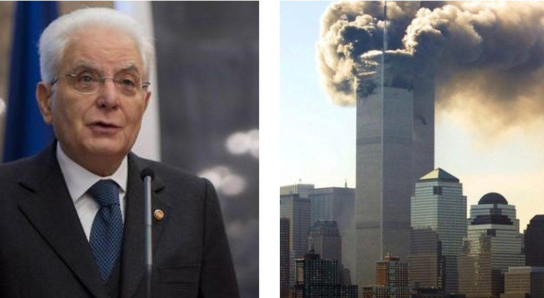 """Commemorazione 11/9, Mattarella: """"Libertà, democrazia e pace valori indivisibili"""""""