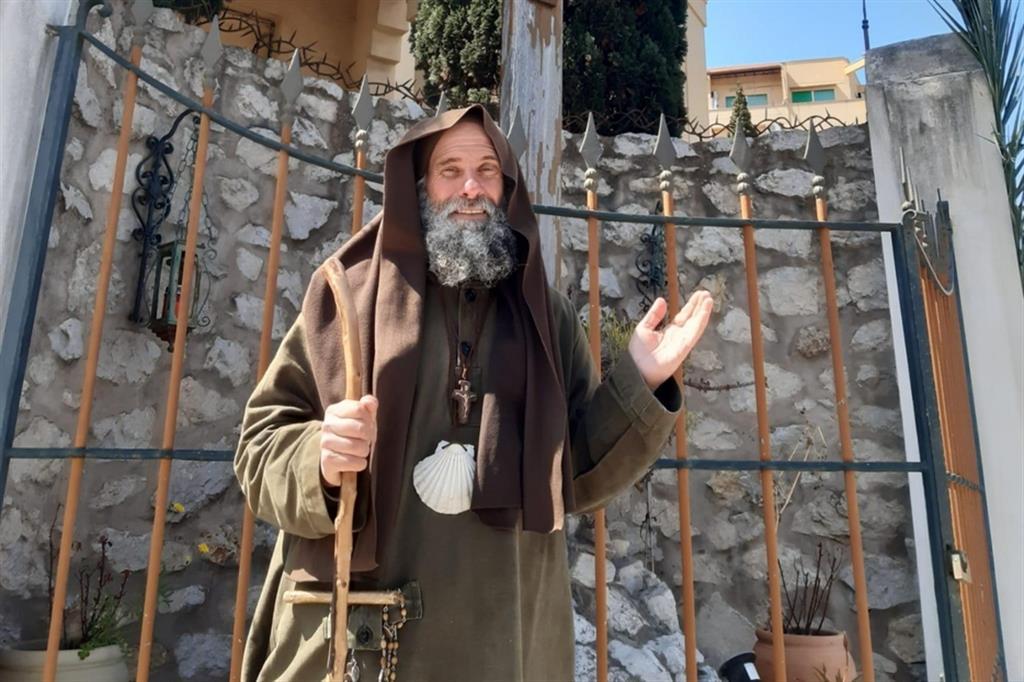 """Fratel Biagio Conte: """"Sento vicina Santa Rosalia da quando ho sentito la chiamata eremitica"""""""