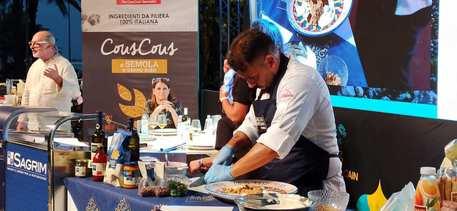 Couscous fest, gara italiani,vince lo chef Santo Petrocciani