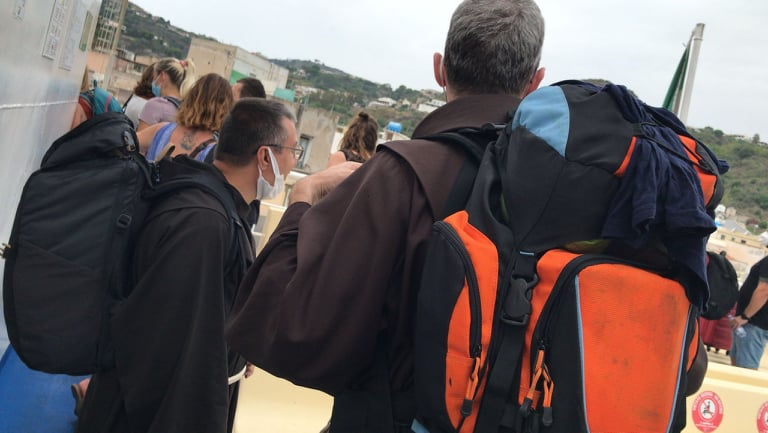 """Dai Nebrodi alle Madonie sino alle Eolie, Frati Minori in missione:""""Portate gioia e speranza"""" (Foto evideo)"""