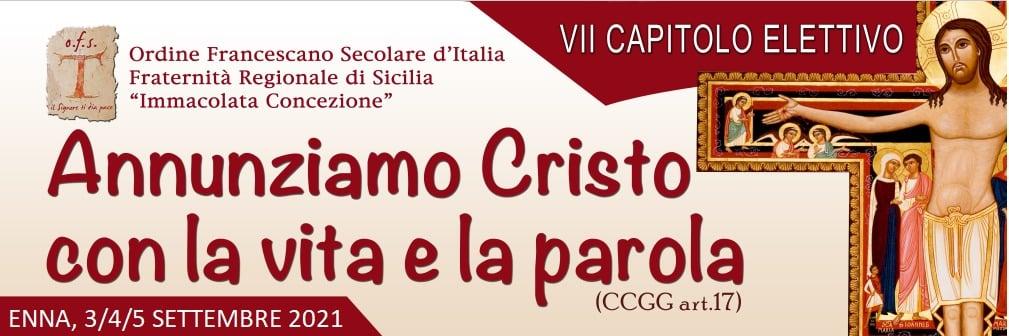 Ordine Francescano Secolare di Sicilia, al via ieri pomeriggio il Capitolo elettivo
