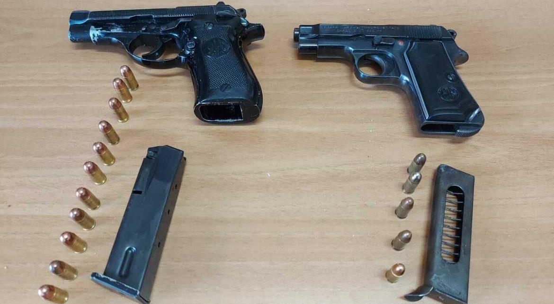 Arrestata 31enne a Gela, teneva due pistole nella cinta dei pantaloni