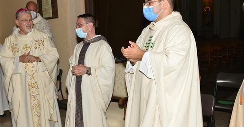 Lampedusa: presentato il nuovo parroco, don Carmelo e il vice  Don Salvatore